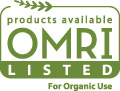 products available OMRI LISTED for organic use